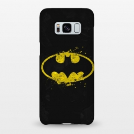 Galaxy S8+  Batman's Splash by Sitchko Igor (Bat,batman,DC Comics,Dark Knight,Dark,Knight,Bruce,Wayne,Gotham,superhero,comics,movie)