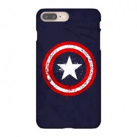 iPhone 8/7 plus  Captain's America splash by  (Superhero,Capitan,America,Flag,comics,Marvel,Soldier,World War,military,American,Patriot)