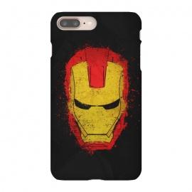 iPhone 8/7 plus  Iron Man splash by  (Iron,Man,Iron Man,Metal,Superhero,Comics,Movie,American,Marvel)