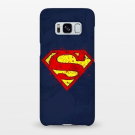 Galaxy S8+  Super Man's Splash by Sitchko Igor (Super,Man,Superman,Superhero,Comics,DC Comics,Krypton,Clark Kent,Metropolis)