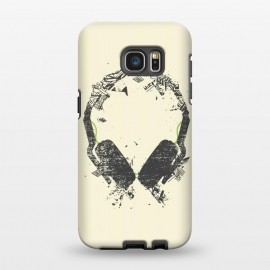 Galaxy S7 EDGE  Art Headphones by Sitchko Igor