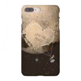 iPhone 8/7 plus  Love the Pluto by  (Pluto,Love,planet,space,cosmos,NASA,new horizons,program,satelite,orbital,galaxy,mission,pluton,2015,sciense,spaceship,astronaut)