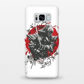 Galaxy S8+  Black Samurai by Sitchko Igor (Black,Samurai,Japan,war,soldier,bamboo,japanese,katana,killer,sun,red,splash,sword,warrior)