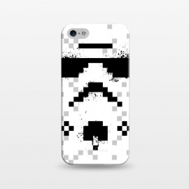 iPhone 5/5E/5s  8-bit Trooper - Black by Sitchko Igor
