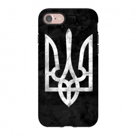 iPhone 8/7  Ukraine Black Grunge by Sitchko Igor (Ukraine,trident,black,grunge,UA,ukrainian,symbol,nation,national,freedom,volia,patriot,human,kyiv,kiev,ethno,Україна,герб,тризуб,Dorn,Дорн,дорна,симбол,воля,свобода)