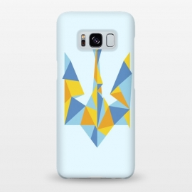 Galaxy S8+  Ukraine Geometry by Sitchko Igor (Ukraine,trident,UA,triangle,triangles,geometry,minimal,minimalism,nation,native,national,volia,svoboda,modern,urban,patriot,symbol,kyiv,kiev,Україна,герб,тризуб,українське)