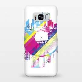Galaxy S8+  Urban Vinyl Colorful by Sitchko Igor (Vinyl,Turntable,city,town,urban,modern,colorful,DJ,Deejay,techno,deep,house,dub,dubstep,DNB,sound,audio,club,clubber)