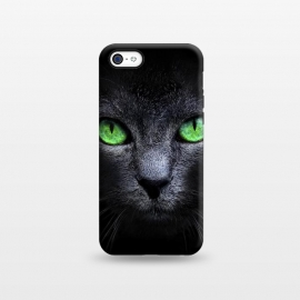 iPhone 5C  Black Cat by Sitchko Igor