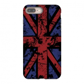 iPhone 7 plus  Grunge UK Flag Black by Sitchko Igor