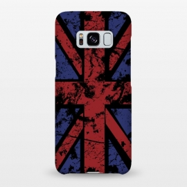 Galaxy S8+  Grunge UK Flag Black by Sitchko Igor (United,Kingdom,UK,Flag,Colors,National,Nation)