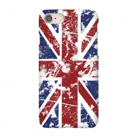 iPhone 8/7  Grunge UK Flag  by Sitchko Igor