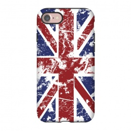 iPhone 7  Grunge UK Flag  by Sitchko Igor