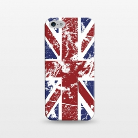 iPhone 5/5E/5s  Grunge UK Flag  by Sitchko Igor