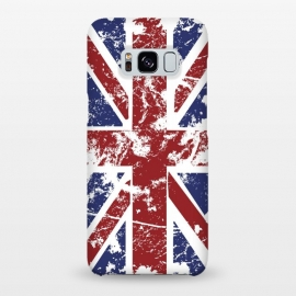 Galaxy S8+  Grunge UK Flag  by Sitchko Igor (Grunge,UK,United,Kingdom,Flag,Colors,Nation,National,Great,Britan)