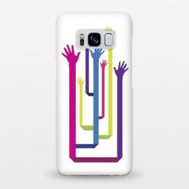 Galaxy S8+  Hands Tree by Sitchko Igor (Hands,Vector,Tree,Colorful,Free,Freedom)