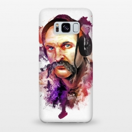 Galaxy S8+  Cossack Ivan Sirko listen music by Sitchko Igor (Cossack,Ivan,Sirko,Listem,music,sound,audio,dj,Deejay,Headphones,Ukraine,Ethno,history,warrior,soldier,man,human,moustache)