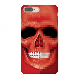 iPhone 8/7 plus  Red Skull by Sitchko Igor