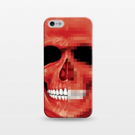 iPhone 5/5E/5s  Red Skull by Sitchko Igor