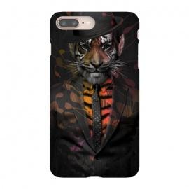 iPhone 8/7 plus  Wild Business by  (gentlemen,wild,tiger,business,cat,gangster,animals,kitty,animal,danger,smoking)