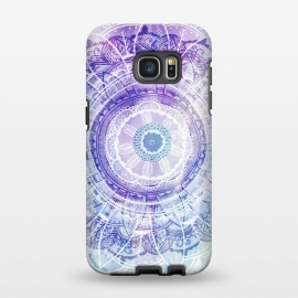 Galaxy S7 EDGE  Mandala Love by Rose Halsey