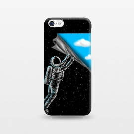 iPhone 5C  Astronaut open the sky by Coffee Man