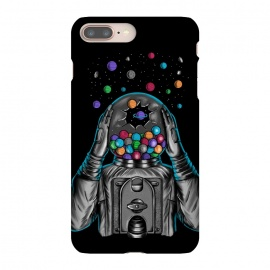 iPhone 8/7 plus  Astronaut Explotion by Coffee Man (astronaut,explotion,universe,space,cosmo,planets,gummy machine,gumm,fun,funny,stars)
