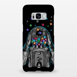 Galaxy S8+ SlimFit Astronaut Explotion by Coffee Man (astronaut,explotion,universe,space,cosmo,planets,gummy machine,gumm,fun,funny,stars)