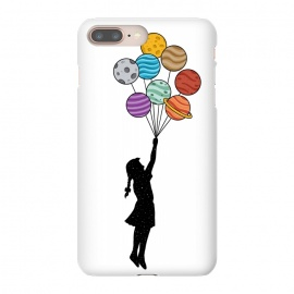 iPhone 8/7 plus  Planets Balloons by Coffee Man (universe,balloons,kid,kids,children,planets,girl,fun,funny,bansky,stars,urbarn)