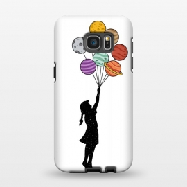 Galaxy S7 EDGE  Planets Balloons by Coffee Man