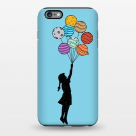 iPhone 6/6s plus  Planets Balloons 2 by Coffee Man