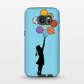Galaxy S7  Planets Balloons 2 by Coffee Man