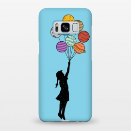 Galaxy S8+  Planets Balloons 2 by Coffee Man