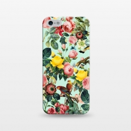 iPhone 5/5E/5s  FLORAL AND BIRDS III by