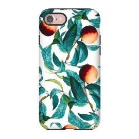 iPhone 7  Fruit and Leaf Pattern by Burcu Korkmazyurek