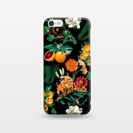 iPhone 5C  Fruit and Floral Pattern by Burcu Korkmazyurek