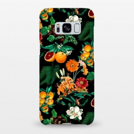 Galaxy S8+  Fruit and Floral Pattern by Burcu Korkmazyurek