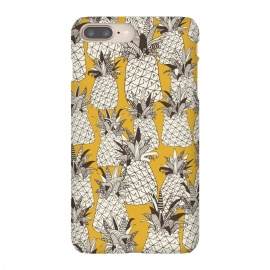 Pineapple Sunshine by Sharon Turner (pineapple,pattern,tropical,summer)