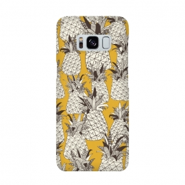Galaxy S8  Pineapple Sunshine by Sharon Turner
