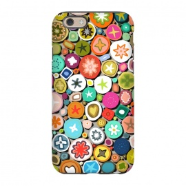 iPhone 6/6s  Millefiori by Sharon Turner