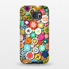 Galaxy S7 EDGE  Millefiori by Sharon Turner