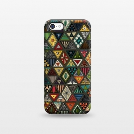 iPhone 5C  Geo Triangles by Sharon Turner