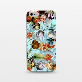 iPhone 5/5E/5s  SUMMER BOTANICAL VI by Burcu Korkmazyurek