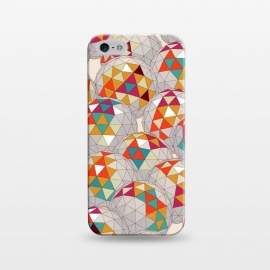 iPhone 5/5E/5s SlimFit Dreamsphere by Sharon Turner (3d,pattern,geometric)