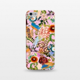 iPhone 5/5E/5s  SUMMER BOTANICAL IX by Burcu Korkmazyurek