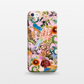 iPhone 5C  SUMMER BOTANICAL IX by Burcu Korkmazyurek