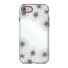 iPhone 8/7  Happy Times by Barlena (flowers, blue, happy, times, circle, pastels)