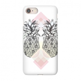iPhone 7 SlimFit Tropical by Barlena (pineapple, tropical, two, summer, fruit, drawing)