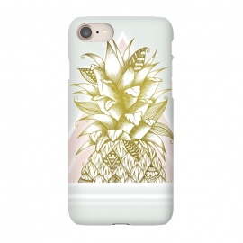 iPhone 8/7  Golden Pineapple by Barlena