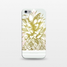 iPhone 5/5E/5s  Golden Pineapple by Barlena