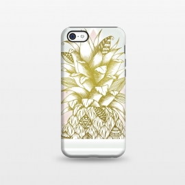 iPhone 5C  Golden Pineapple by Barlena